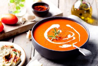 Roasted Garlic And Tomato Soup1