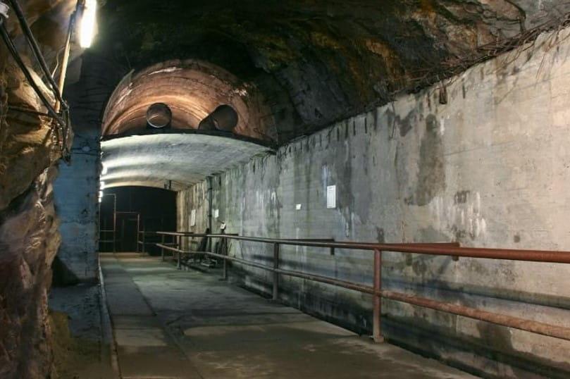Pitch Black Tunnel
