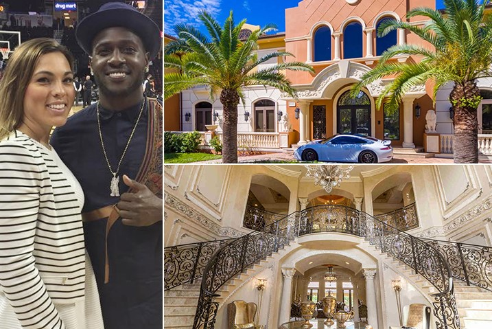 Antonio Brown Chelsie Kyriss Hollywood 6.6 Million