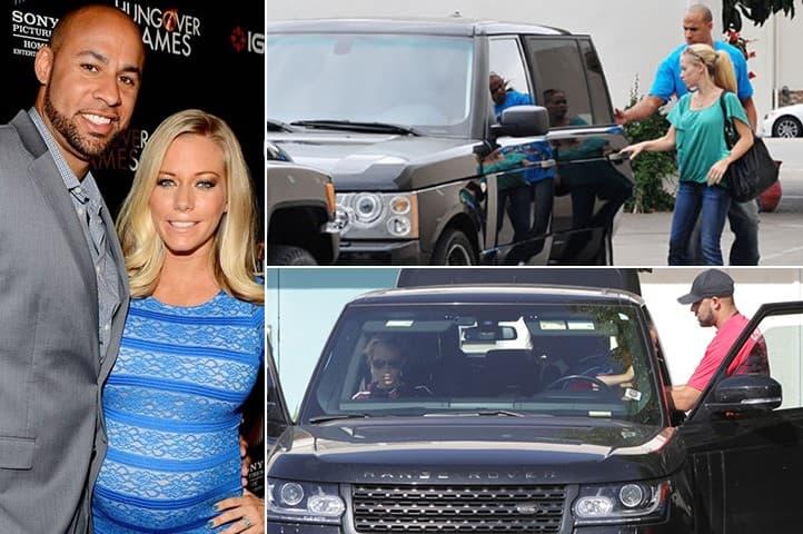 Hank Baskett Kendra Wilkinson Range Rover 94K