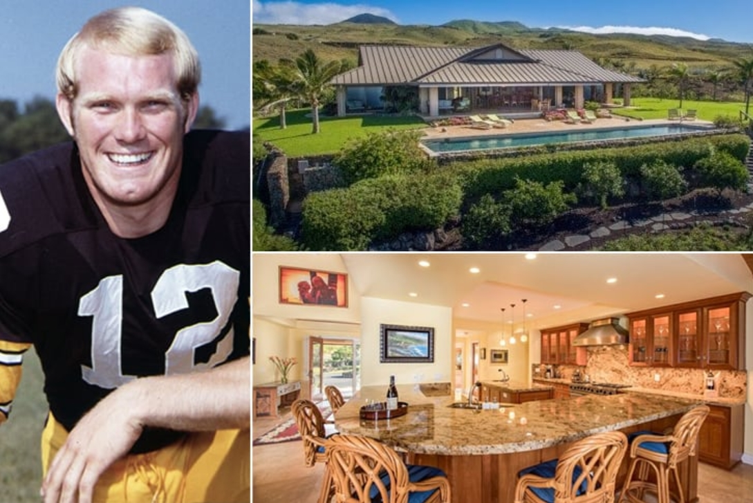 Terry Bradshaw Pittsburgh Steelers – Hawaii 2.7 Million