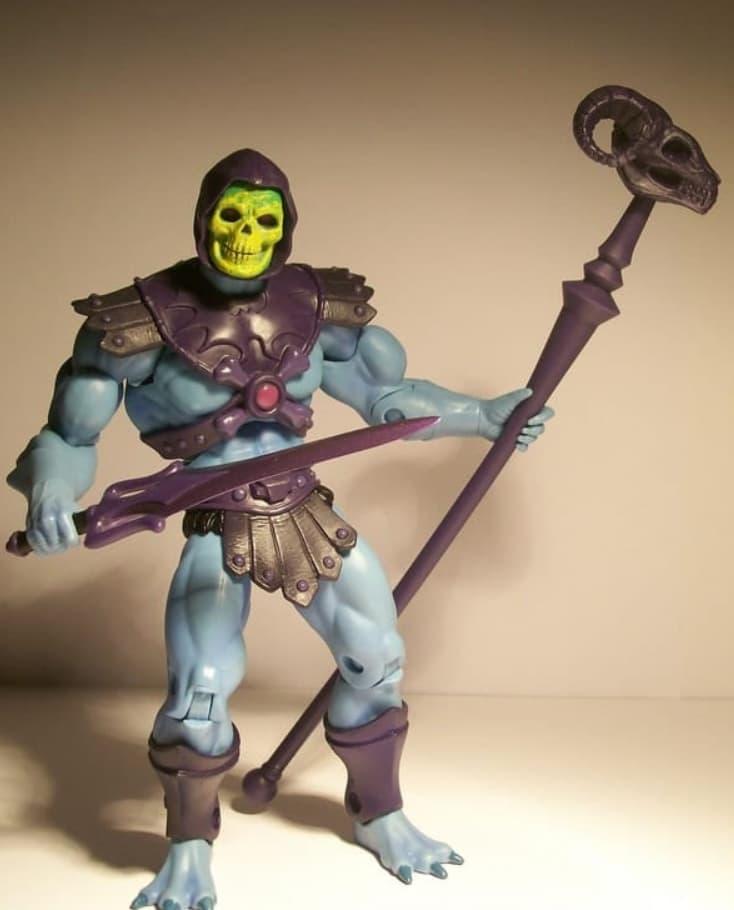 Skeletor Action Figure