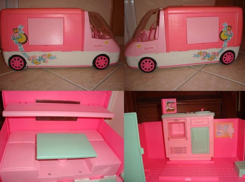 Barbie Motor Home