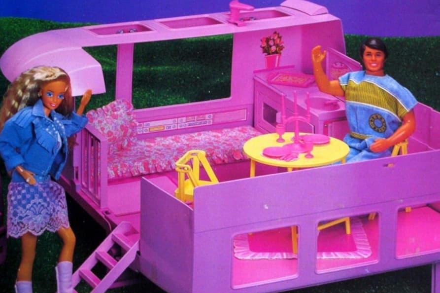 Barbie Golden Dream Motorhome