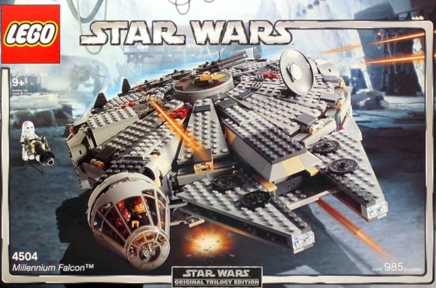 Legos 1st Edition Millennium Falcon