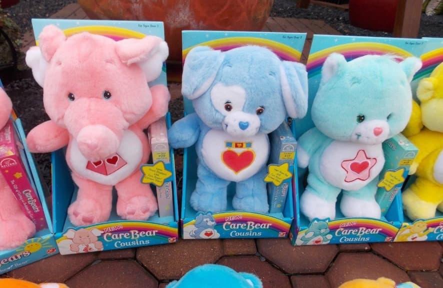 Vintage Care Bear Dolls