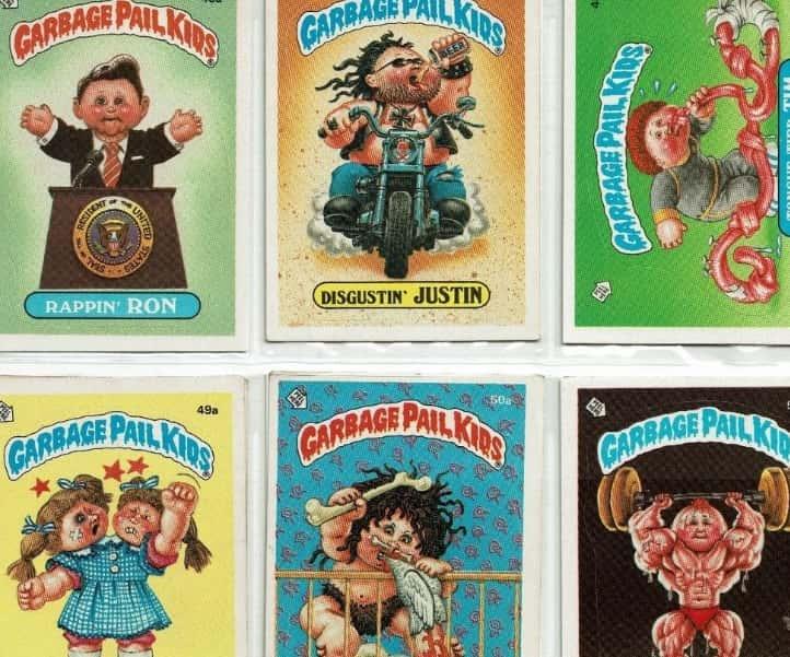 Garbage Pail Kids' Cards