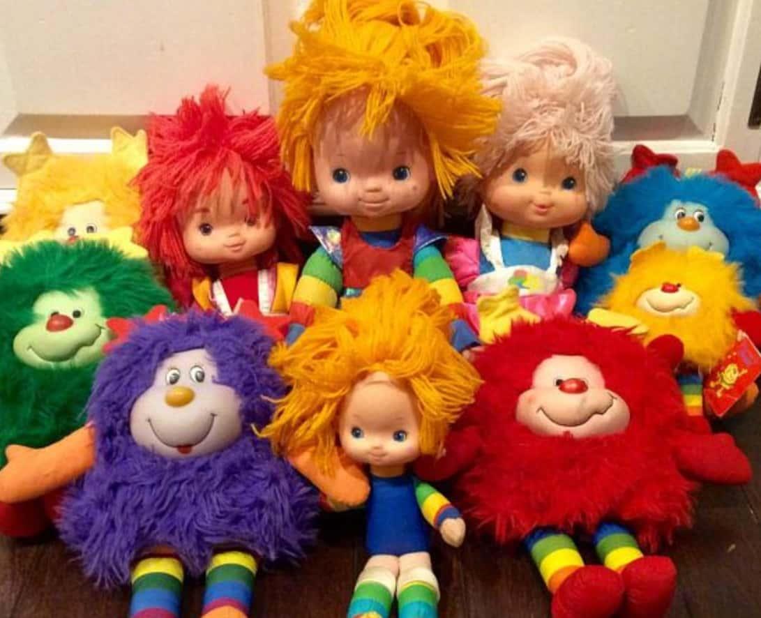 Vintage Rainbow Brit Doll
