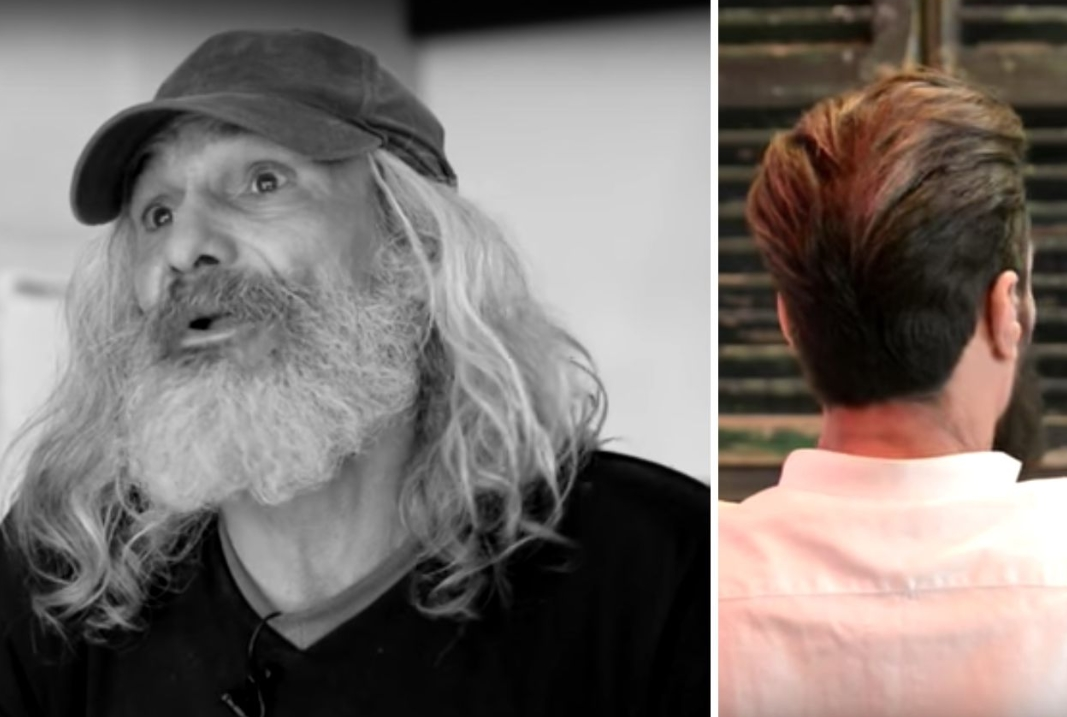 Homeless Man's Life Completely Turned Around After Having A Makeover